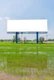 Large Blank billboard ready for new advertisement Royalty Free Stock Photo