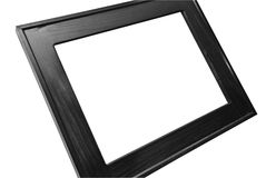 Large Blank Frame on a Wall royalty free stock photography