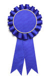Large Blue Ribbon Stock Images