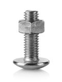 Large bolt and nut Royalty Free Stock Image