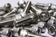 Large bolts Stock Image
