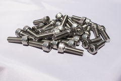 Large bolts Royalty Free Stock Image