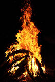 Large bonfire Royalty Free Stock Photos