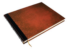 Large book isolated. With clipped path Royalty Free Stock Photo