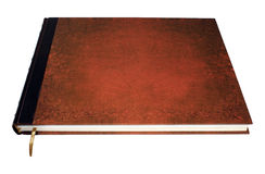 Large book isolated. With clipped path Royalty Free Stock Images