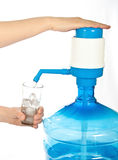 Large bottle of clean drinking water. Royalty Free Stock Image