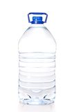 Large bottle of mineral water isolated Royalty Free Stock Images