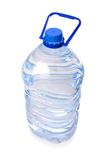 Large bottle of mineral water isolated Stock Photography