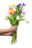Large bouquet isolated Stock Photo