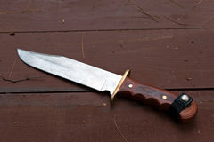 Large Bowie Knife Stock Images