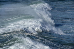 Large breaking wave Royalty Free Stock Image