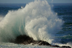 Large breaking wave Royalty Free Stock Images