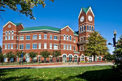 Large Brick County Building Stock Image