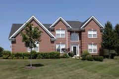 Free Large Brick Home Circular Window Stock Photo - 29174590