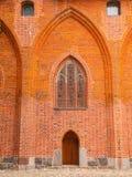Large brick portal Stock Photos