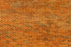 Large Brick wall Royalty Free Stock Image