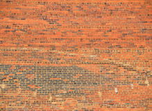 Large brick wall Stock Photos