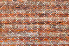 Large Brick Wall Stock Photography