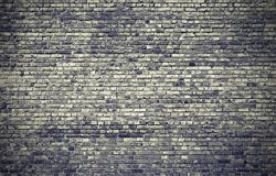 Large brick wall in gray tones. Abstract background. Illustration. Art picture. Saturated color Stock Image