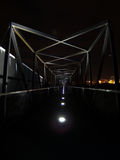 Large Bridge at Night Royalty Free Stock Photography