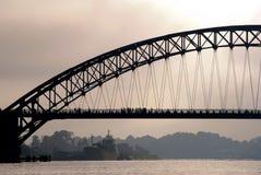 Large bridge Royalty Free Stock Photos