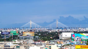 Large bridges in Bangkok Royalty Free Stock Photos