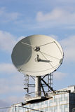 Broadcast Satellite Dish Royalty Free Stock Photography