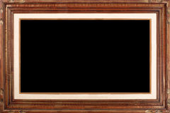 Large Brown Frame Royalty Free Stock Photo