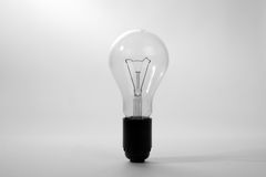Large brushed electric incandescent lamp Stock Photo