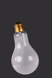 Large brushed electric incandescent lamp Stock Photography