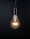 Large brushed electric incandescent lamp Stock Image