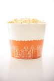 A large bucket of popcorn Royalty Free Stock Photos
