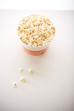 A large bucket of popcorn Royalty Free Stock Images