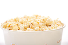 A large bucket of popcorn Royalty Free Stock Image