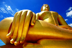 Large Buddha. In Thailand Religion Stock Photos