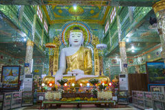 Large Buddha Image. Royalty Free Stock Photography
