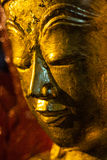 Large Buddha in Pindaya Caves Royalty Free Stock Photos