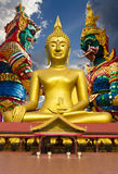 Large Buddha statue. Royalty Free Stock Photo