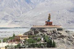 Large Buddha Statue in Ladakh. Stock Images