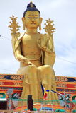 Large Buddha Statue in Ladakh. Royalty Free Stock Photography