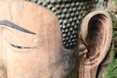 Large buddha statue Royalty Free Stock Photos