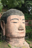 Large buddha statue in Leshan, Stock Image