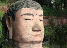 Large buddha statue in Leshan, Stock Photos