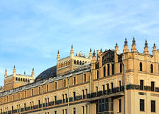 Large building with of the eclectical style royalty free stock photo