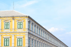 Large building in European style. And blue sky Stock Image