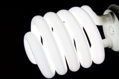 Large bulb emitting white light.  royalty free stock photography