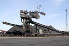 Large bulk stacking machine. Stock Images