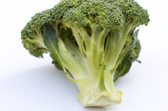 Large Bunch of Green Broccoli. On White Background Royalty Free Stock Images