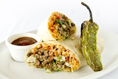 Large Burrito Stock Images