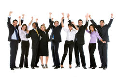 Large business group Royalty Free Stock Photography